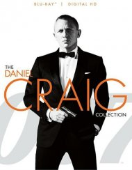 007: The Daniel Craig Collection (Blu-ray + UltraViolet)