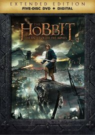 Hobbit, The: The Battle Of The Five Armies - Extended Edition (DVD + UltraViolet)