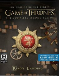 Game Of Thrones: The Complete Second Season (Steelbook + Blu-ray + Digital Copy)
