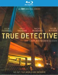 True Detective: The Complete Second Season (Blu-ray + UltraViolet)