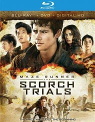 Maze Runner: The Scorch Trials - Ultimate Fan Edition (Blu-ray + DVD + UltraViolet)