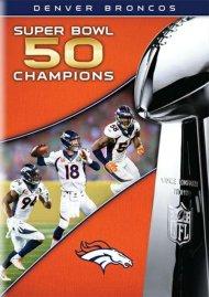 Superbowl 50: Denver Broncos vs. Carolina Panthers