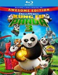 Kung Fu Panda 3 (Blu-ray + DVD + UltraViolet)