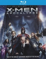 X-Men: Apocalypse (Blu-ray 3D + Blu-ray + UltraViolet)
