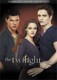 Twilight Saga 5-Movie Collection, The (DVD + UltraViolet)