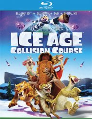 Ice Age: Collision Course (Blu-ray 3D + Blu-ray + DVD + UltraViolet)