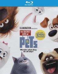 Secret Life Of Pets, The (4K Ultra HD + Blu-ray + UltraViolet)