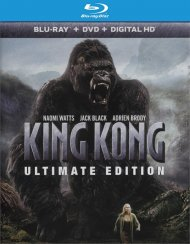 King Kong: Ultimate Edition (Blu-ray + DVD + UltraViolet)