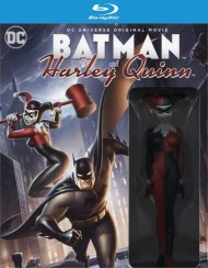 Batman and Harley Quinn: Deluxe Edition (Blu-ray + DVD + Digital HD Combo)