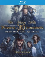 Pirates Of The Caribbean: Dead Men Tell No Tales (Blu-ray + DVD + Digital HD Combo)