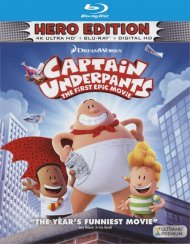 Captain Underpants: First Epic Movie (4k Ultra HD + Blu-ray + UltraViolet)