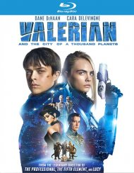 Valerian and the City of A Thousand Planets (Blu-ray + DVD + DIgital HD Combo)