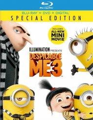 Despicable Me 3 (Blu-ray + DVD + Digital HD)