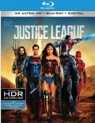 Justice League (4k Ultra HD + Blu-ray + UltraViolet)