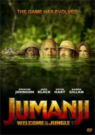 Jumanji: Welcome to the Jungle (DVD + Digital HD)