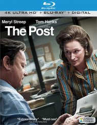 Post, The (4k Ultra HD + Blu-ray + UltraViolet)
