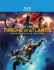 Justice League - Throne of Atlantis - Commemorative Edition (BR/DIG/2DISC)