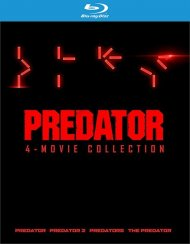 Predator 4 Film Collection (BR/4DISCS/4FILMS)