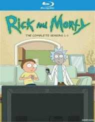 Rick and Morty - Complete 1st-3rd Seasons (BR)