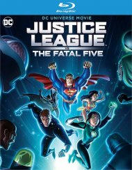 Justice League vs The Fatal Five (BLU-RAY/DVD/DIGITAL)
