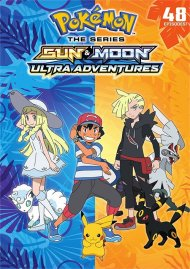 Pokemon Sun and Moon: Ultra Adventures (DVD/6 DISC)