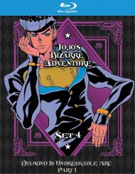 Jojos Bizarre Adventure Set 4:Diamond is Unbreakable Part 1 (BLURAY)