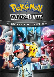 Pokemon Black & White 4-Movie Collection