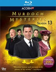 Murdoch Mysteries-Season 13 (Blu-ray)