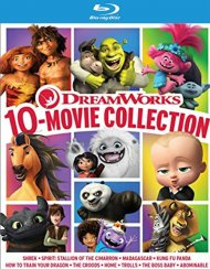 Dreamworks 10-Movie Collection (Blu-ray + Digital)
