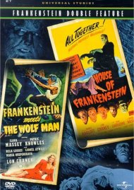 Frankenstein Meets The Wolf Man/ House Of Frankenstein (Double Feature)