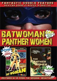 Batwoman & The Panther Women: Double Feature (DVD)
