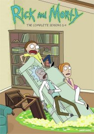 Rick and Morty: Seasons 1-4 (DVD)