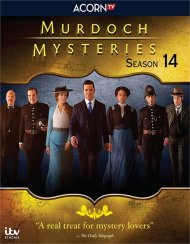 Murdoch Mysteries: Season 14 (Blu ray)
