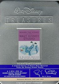 Behind The Scenes At The Walt Disney Studio: Walt Disney Treasures Limited Edition Tin