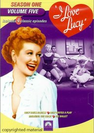 I Love Lucy: Season One - Volume Five
