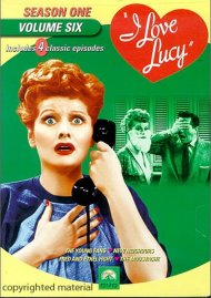 I Love Lucy: Season One - Volume Six