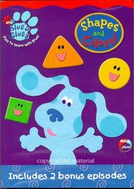 Blues Clues: Shapes And Colors!