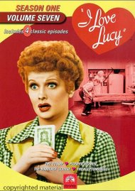 I Love Lucy: Season One - Volume Seven