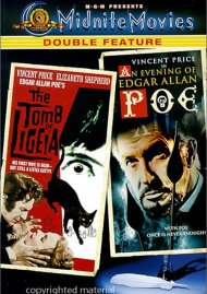 Tomb Of Ligeia, The / An Evening Of Edgar Allan Poe (Double Feature)