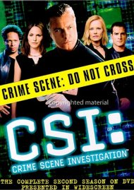CSI: Crime Scene Investigation - The Complete Second Season