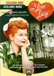 I Love Lucy: Season One - Volume Nine