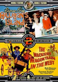 Rescue From Gilligans Island / The Wackiest Wagon Train In The West (Double Feature)