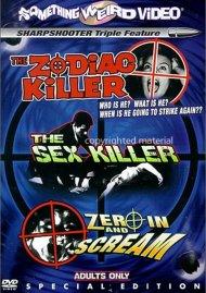 Zodiac Killer, The / The Sex Killer / Zero In And Scream (Triple Feature)