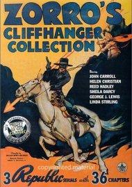 Zorros Cliffhanger Collection