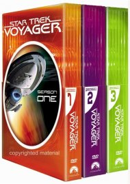 Star Trek: Voyager - Seasons 1 - 3