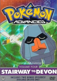 Pokemon Advanced: Volume 4 - Stairway To Devon