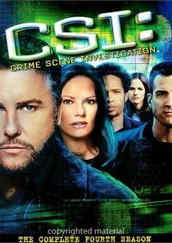 CSI: Crime Scene Investigation - The Complete Fourth Season