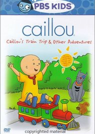 Caillou: Train Trip And Other Adventures