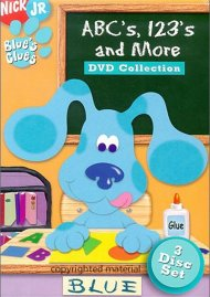 Blues Clues: ABCs, 123s And More DVD Collection