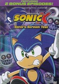 Sonic X: Volume 5 - Sonics Scream Test